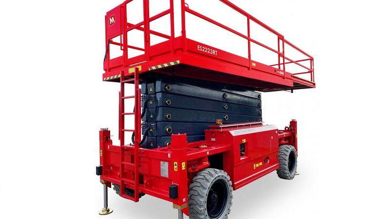 NYHED: 22 meter batterisaxlifte