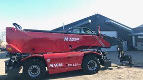 Magni og MJ Hydraulik slår rekord i Danmark