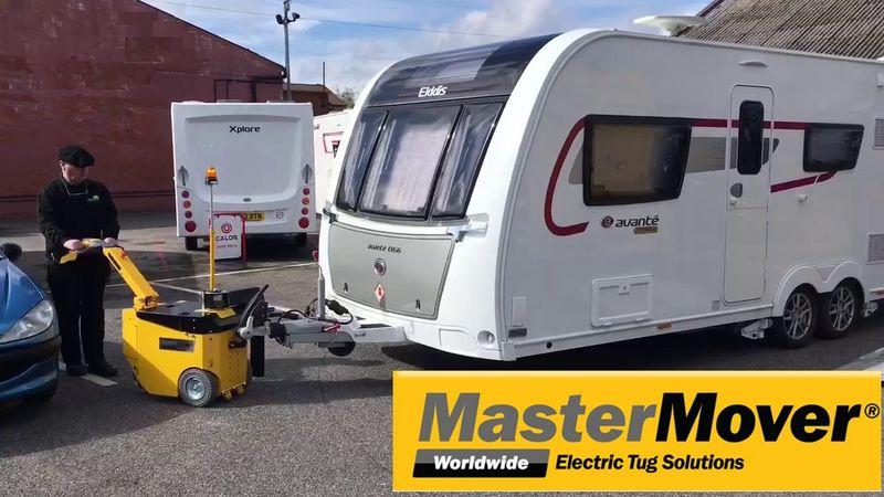 Elektriske Movere udviklet til nemt at flytte fra 50 kg op til 120.000 kg.