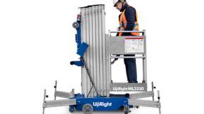 Upright sølje-/mastelift